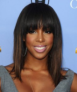 """14"""" Wavy With Bangs Lace Front Wigs 100% Human Hair Wigs The Same As The Hairstyle In The Picture"""