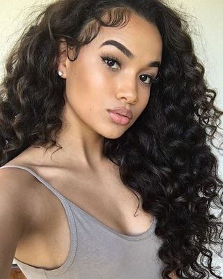 """24"""" Curly Long Wigs For African American Women The Same As The Hairstyle In The Picture"""