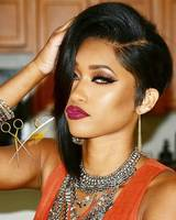 """12"""" Asymmetrical Wigs Lace Front Wigs 100% Human Hair Wigs The Same As The Hairstyle In The Picture"""
