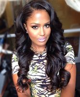 "22"" Wavy Long Wigs For African American Women The Same As The Hairstyle In The Picture"