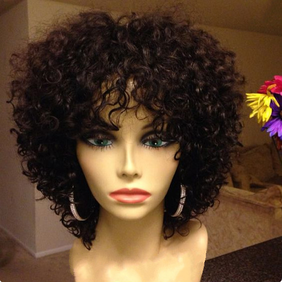 12 Quot Kinky Curly Wigs For African American Women The Same
