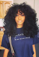 "16"" Curly Wigs Lace Front Wigs 100% Human Hair Wigs The Same As The Hairstyle In The Picture"