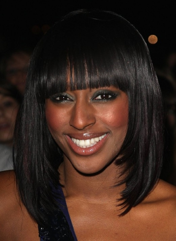 "12"" Bob With Bangs Lace Front Wigs 100% Human Hair Wigs The Same As The Hairstyle In The Picture"