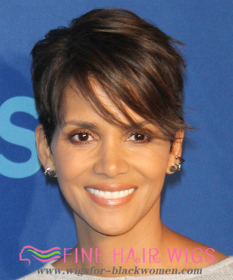 """6"""" Short Wigs For African American Women The Same As The Hairstyle In The Picture"""