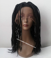 """14"""" Braided Wigs Lace Front Wigs For Women The Same As The Hairstyle In The Picture"""